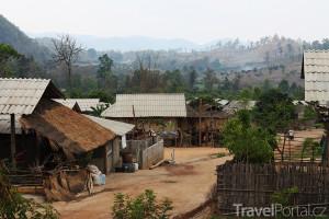 thajská vesnice