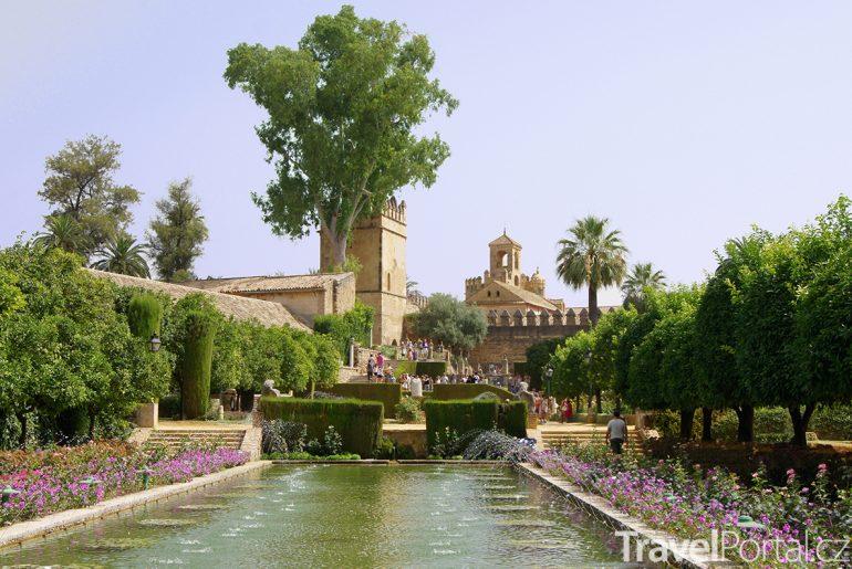 zahrady zámku Alcázar