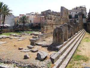 zbytky Apollonova chrámu