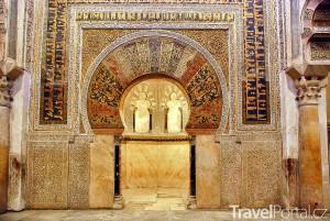 Mihrab ve Velké mešitě