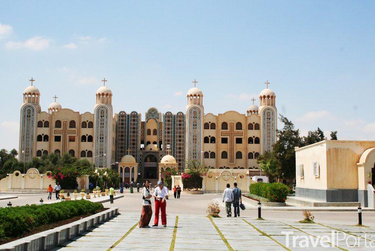 moderní klášter Abu Mena