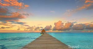 pláž v Belize