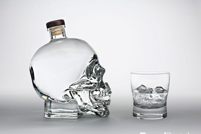 kanadská Crystal Head Vodka