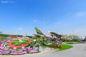 zahrada Dubai Miracle Garden