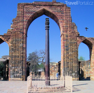 sloup Iron Pillar v Dillí
