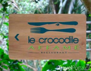 krokodýlí restaurace
