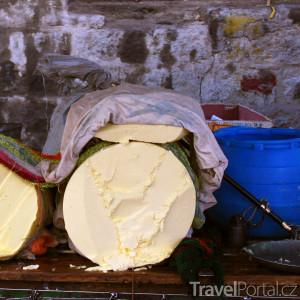 jačí máslo