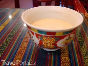 máslový čaj