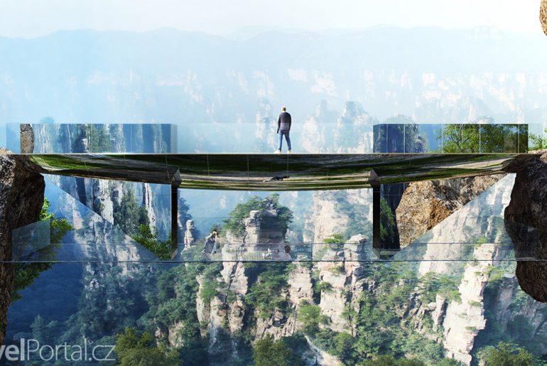 neviditelný most vizualizace