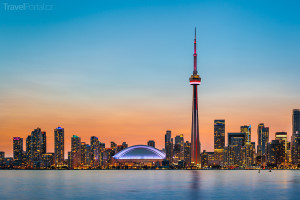 Toronto a jezero Ontario