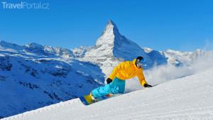 snowboarding ve Švýcarsku