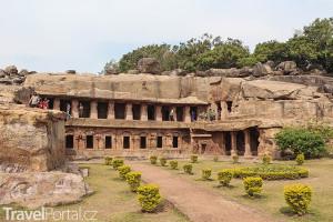 chrám boha Višnu v Udayagiri