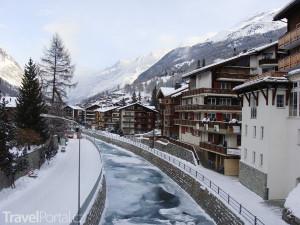 městečko Zermatt