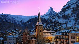 Zermatt večer