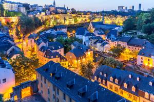 noční Lucemburk