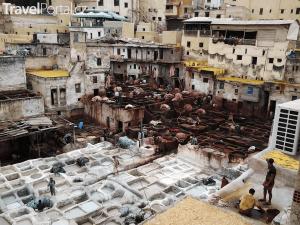 Maroko 2017 aneb barvírna kůže ve Fezu