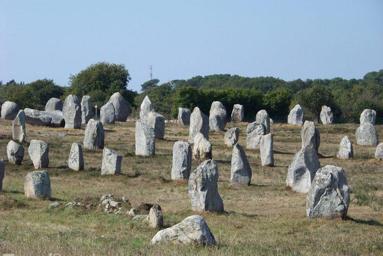 megality v Carnacu
