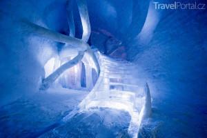ledové schodiště