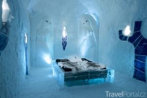 ledový hotel Icehotel 365
