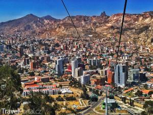 lanovka v La Paz