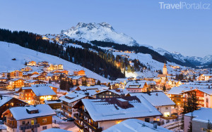 vesnička Lech večer