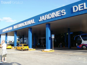 letiště na ostrově Cayo Coco