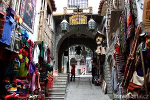 tržiště Mercado de las Brujas