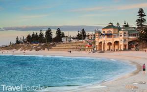 pláž v Perthu