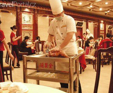 porcování pekingské kachny