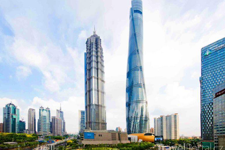 Shanghai Tower je nejvyšší budovou v Číně
