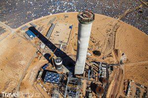 Nejvyšší solární věž na světě roste v Izraeli
