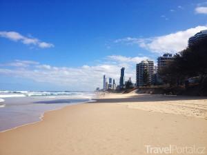 pláž Surfers Paradise
