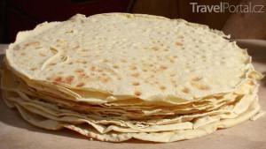 domácí chléb pane carasau