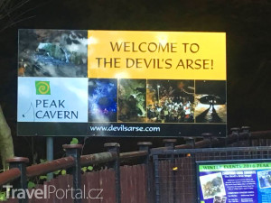 vstup do Peak Cavern