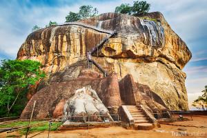 skalní chrám Sigiriya