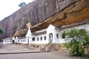 buddhistický komplex ve městě Dambulla