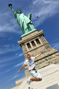 Míra u sochy Svobody