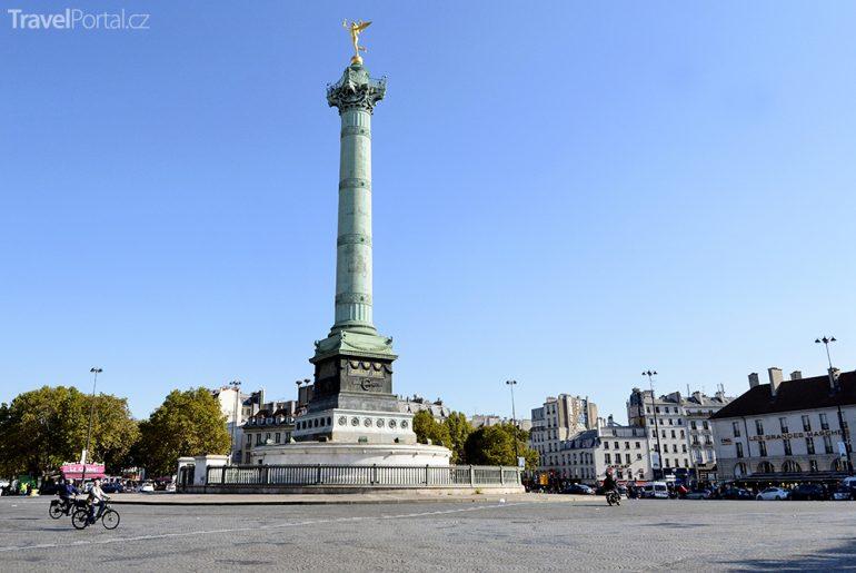 náměstí Place de la Bastille