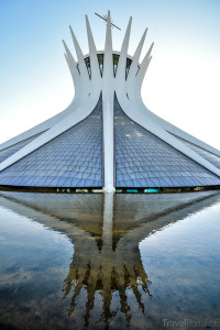 brazilská katedrála Zjevení Panny Marie
