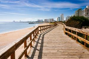 pláž v Punta del Este