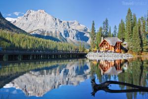 jezero Emerald v Kanadě
