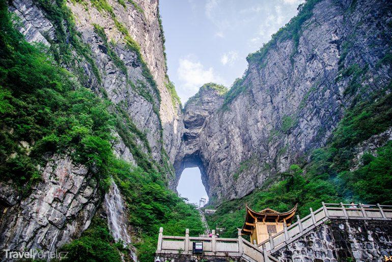 jeskyně Tianmen