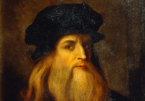 Leonardův autoportrét