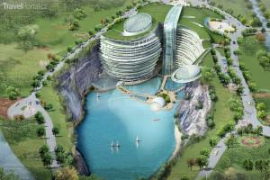 vizualizace hotelu InterContinental Shimao