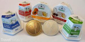 sýry a medaile ze Schlierbachu