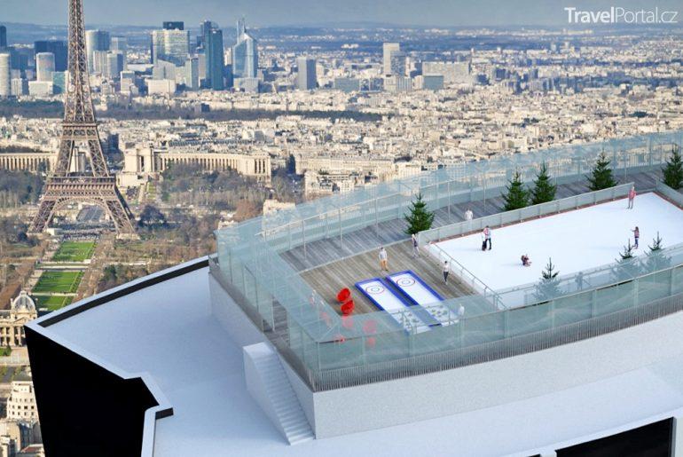 kluziště na Montparnasse Tower