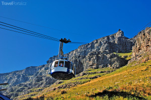 lanovka v Kapském městě