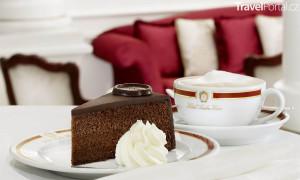 originální Sacher dort