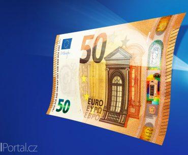 nová eurobankovka ve výši 50 eur