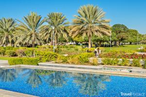 park Al Jahli ve městě Al Ain